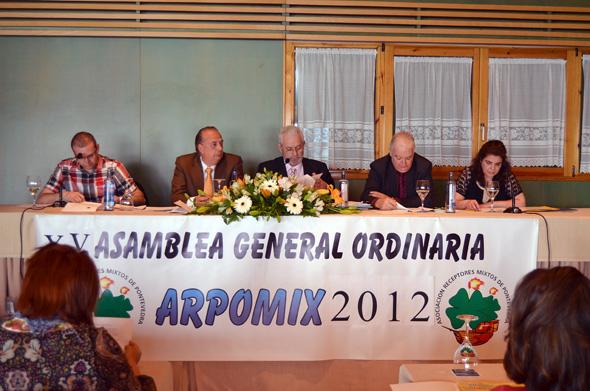 XV Asamblea General Ordinaria de la Asociación de Receptores Mixtos de Pontevedra (ARPOMIX)