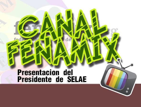 Presentación Presidente SELAE - [VIDEO]