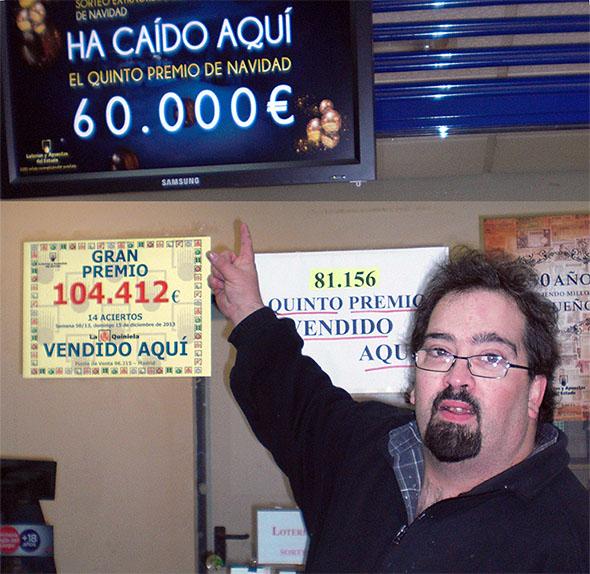 FRANCISCO J. LABORDA, VUELVE A DAR UN IMPORTANTE PREMIO.