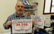 NUESTRO COMPAÑERO JUAN CARLOS PICÓ, DE IBI (ALICANTE) DA UN IMPORTANTE PREMIO EN LA QUINIELA