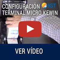 Configuración Terminal Micro Kewin
