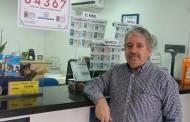 Nuestro compañero Andrés Navarro, de Ibiza (Baleares), ha dado un segundo premio de la Lotería Nacional del sábado.