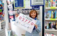 Nuestra compañera Dª. Rosa Mª Bordes, de Reus (Tarragona), ha dado un primer premio en la Lotería Nacional del sábado 14 de Mayo.