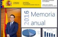 RESUMEN DE LA MEMORIA ANUAL DE LA DGOJ 2016