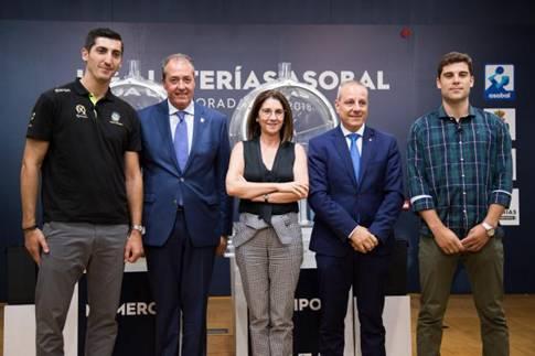 SELAE celebra en su sede el sorteo del calendario de la Liga ASOBAL